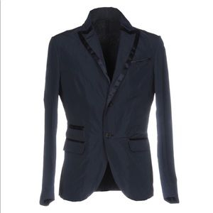 Aquarama Navy Blazer with Piping